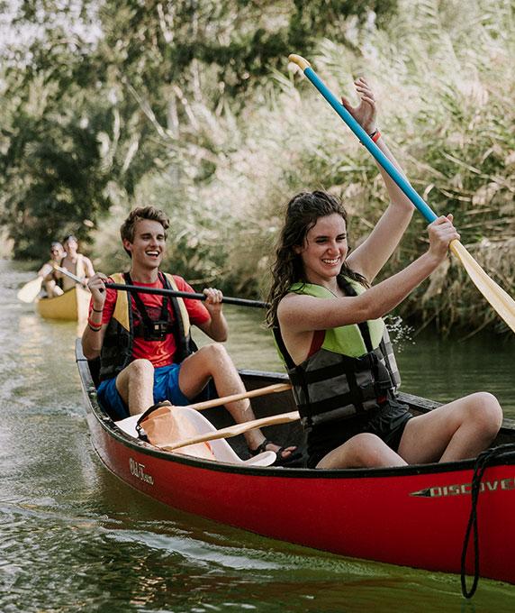 Get baptized in the Jordan River